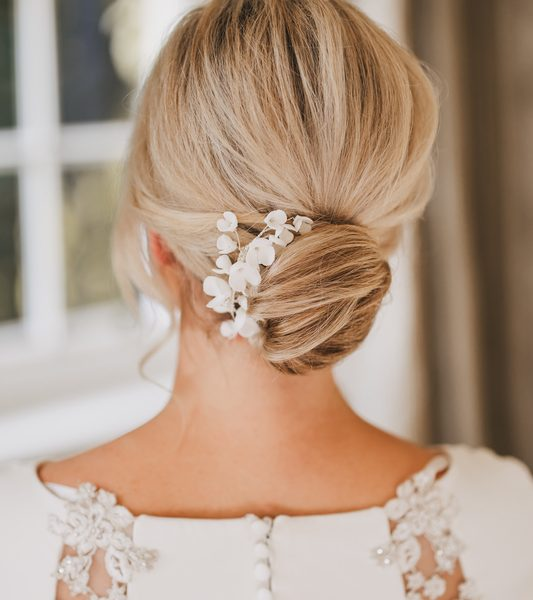 Wedding Hair Megan Delamere