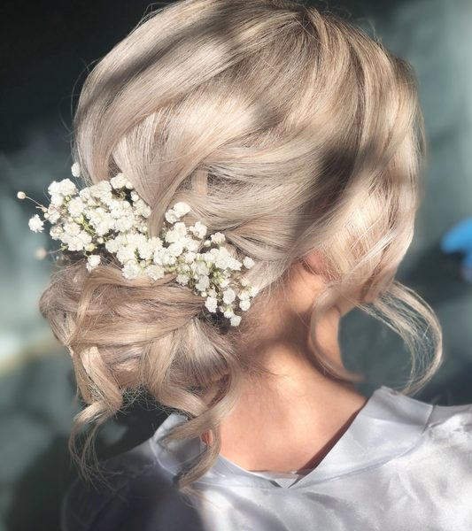 Wedding Hair – Laura Tyn Dwr