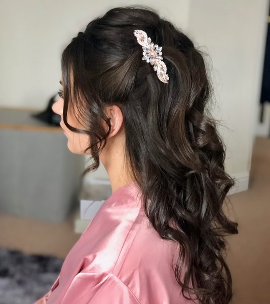 Wedding Hair Shania