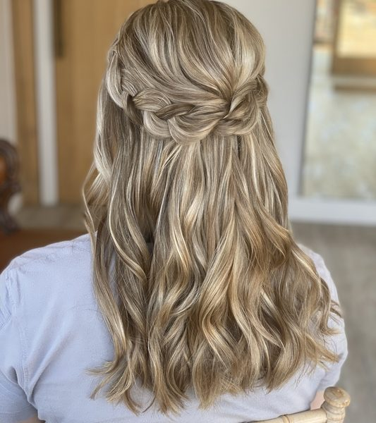 Wedding Hair – Braids Pryor Hayes