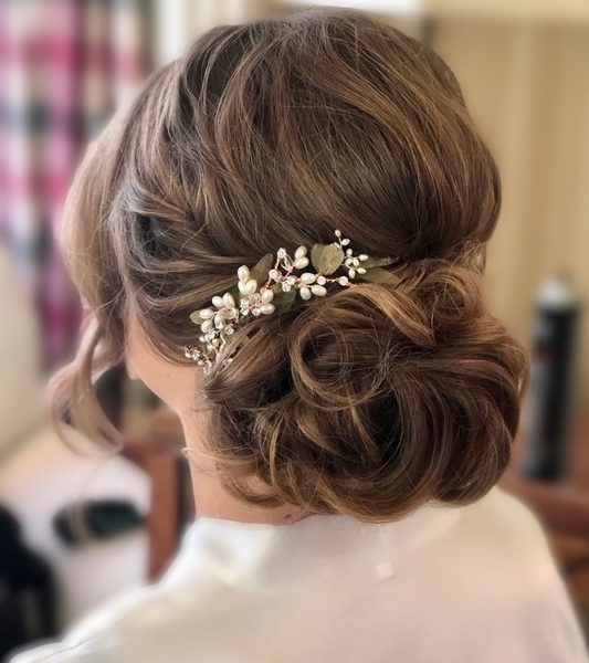 Wedding Hair Emma Combermere
