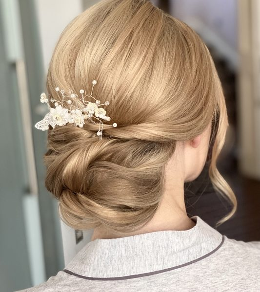 Wedding Hair Frankie bridesmaid
