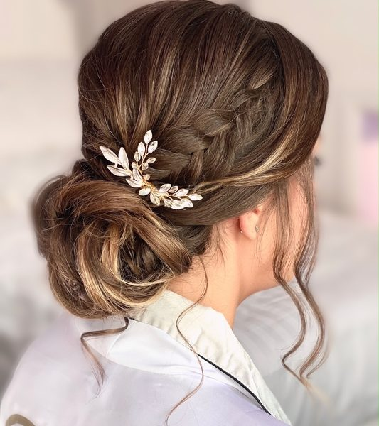 Wedding hair Kelly Rowton