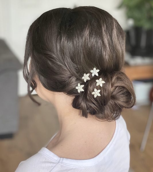 Wedding hair Charlotte S