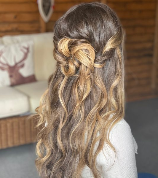Wedding Hair Emily May